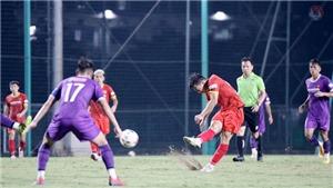 5 điểm nhấn sau trận đấu tập tuyển Việt Nam và U22