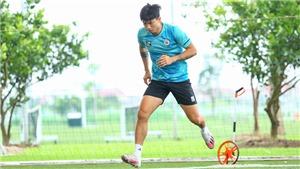 Văn Hậu dần hồi phục, HLV Park Hang Seo mừng thầm