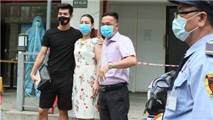 Tuyển thủ Việt Nam chia tay sau khi kết thúc cách ly y tế