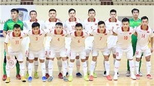 Đội tuyển futsal Việt Nam điều chỉnh kế hoạch tập trung