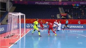 Futsal World Cup 2021: Đắc Huy ghi bàn bằng đầu hiếm có vào lưới tuyển Nga