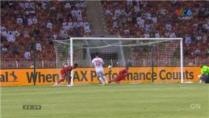 Việt Nam vs Oman: Xem lại bàn thắng mở tỉ số của Tiến Linh