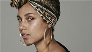 Vẻ đẹp thuần khiết không cần son phấn của Alicia Keys