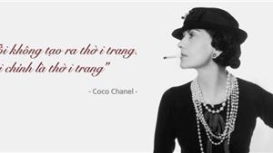 Những câu nói kinh điển của Coco Chanel về thời trang và phụ nữ