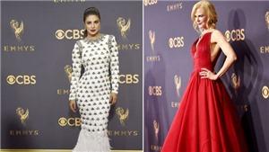 Thảm đỏ Lễ trao giải Emmy 2017 lấp lánh ánh kim và rực rỡ sắc màu
