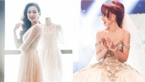Bảy chiếc váy cưới đình đám nhất của làng showbiz Việt