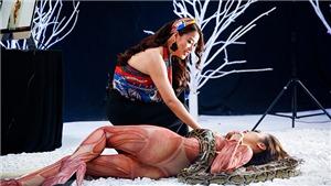 Vietnam's Next Top Model: Trương Ngọc Ánh đem trăn ra 'hù' thí sinh
