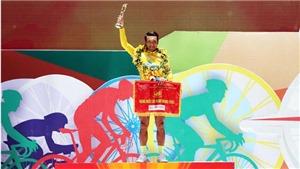 Nguyễn Thành Tâm mặc Áo vàng giải xe đạp lớn nhất Việt Nam