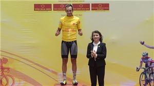 Ngoại binh 'xé' Áo vàng ở giải xe đạp BTV 2018