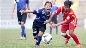 Sơn La và TP.HCM 2 đá 5 trận mới có 1 điểm ở giải nữ VĐQG Cúp Thái Sơn Bắc 2018