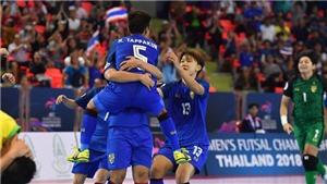 Thua Thái Lan 2-3, futsal nữ Việt Nam tiếc nuối rời giải châu Á