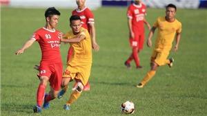 Sao trẻ HAGL giúp Viettel vững vàng ngôi đầu giải hạng Nhất quốc gia 2018