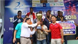 Đội bóng châu Phi lên ngôi ở Thiên Long League 2018