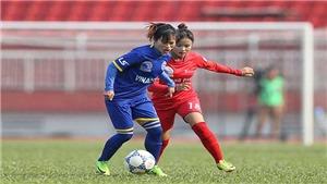 ĐKVĐ chạm trán Than khoáng sản Việt Nam ở bán kết giải bóng đá nữ VĐQG