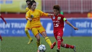 Hà Nội rơi lệ ở giải BĐ nữ VĐQG - Cúp Thái Sơn Bắc 2018