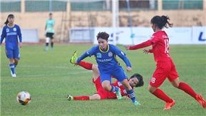 Hà Nội tạo lợi thế lớn tại giải bóng đá nữ VĐQG