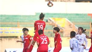 Hà Nội có điểm số đầu tiên ở giải bóng đá nữ VĐQG 2019
