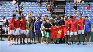 Quần vợt Việt Nam được thưởng lớn sau Davis Cup