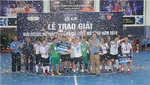 Thắng Hà Nội, TPHCM đòi lại chức vô địch futsal