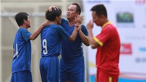 Các cựu tuyển thủ Việt Nam tái hiện thời vàng son