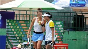 'Bông hồng lai' Alize Lim lập cú đúp tại giải quần vợt quốc gia