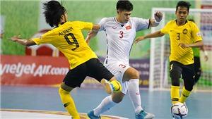 Việt Nam chạm trán 'ông kẹ' Thái Lan ở bán kết giải futsal vô địch Đông Nam Á