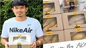 Giống Công Vinh, 'sát thủ' bóng đá Thái Lan ra thương hiệu riêng
