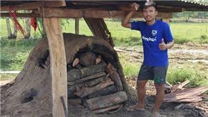 Covid-19 khiến sao trẻ Thái Lan phải đi đốt than kiếm sống