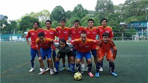 TTXVN tham dự giải bóng đá Hội Nhà Báo TPHCM 2020