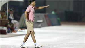 HLV Lê Huỳnh Đức nói trọng tài trận TPHCM - Đà Nẵng có vấn đề