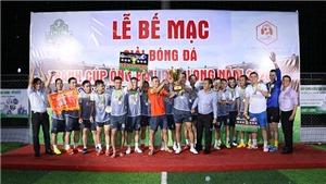 Bảo Long FC đăng quang ngôi vô địch giải bóng đá các ông bầu