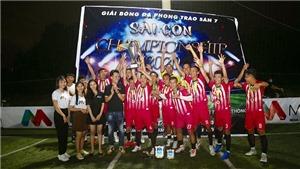 Bưng Biền FC vô địch Sài Gòn Championship 2020
