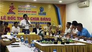 Cầu thủ chuyên nghiệp tham dự giải bóng đá Hội đồng hương Bình Định