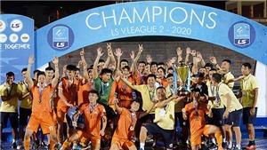 Bình Định lên hạng V-League sau 12 năm chờ đợi