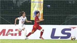TPHCM 1 vô địch lượt đi giải bóng đá nữ VĐQG
