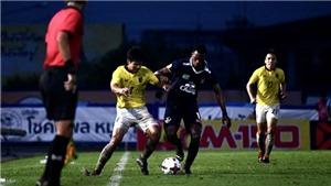 Tuyển Thái Lan thua CLB hạng 2 Thai League