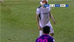 VFF phạt nguội cầu thủ HAGL, Hải Phòng và Sài Gòn FC