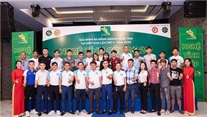 14 đội bóng tranh tài ở Nghệ Tĩnh Cúp 2020