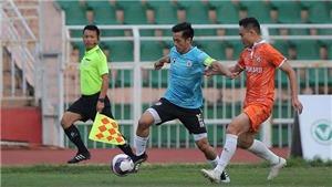 Quang Hải và đồng đội vất vả trước tân binh V League 2021