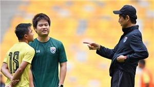 HLV Thái Lan dùng sao Leicester City thay 'Messi Thái'