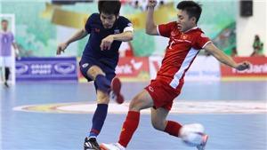 Futsal Thái Lan lo khi Việt Nam gặp Brazil