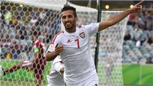 'Sát thủ' của tuyển UAE quyết đòi nợ Thái Lan