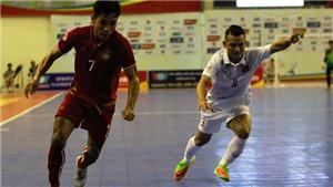 Futsal Việt Nam đang mất hết 'vượng khí'