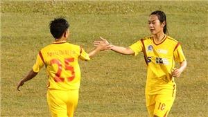 Thiết lập trật tự giải bóng đá nữ VĐQG Cúp Thái Sơn Bắc 2017