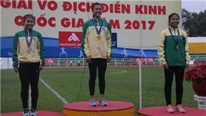 'Nữ hoàng tốc độ mới' Tú Chinh thống trị giải vô địch quốc gia