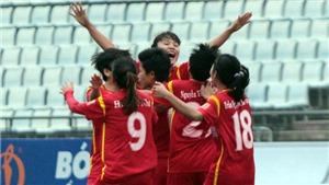 Cô trò Kim Chi làm nên lịch sử với hat-trick VĐQG