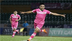 Video: Bàn thắng và Highlights Sài Gòn 2-0 Thanh Hóa