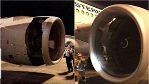 CẬN CẢNH lỗ hổng toang hoác buộc máy bay Airbus Trung Quốc hạ cánh khẩn cấp