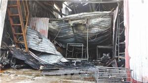 Cháy xưởng bánh 8 người chết: Khởi tố vụ án, bắt khẩn cấp thợ hàn xì