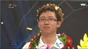 'Cậu bé Google' Phan Đăng Nhật Minh giành vòng nguyệt quế Olympia 2017